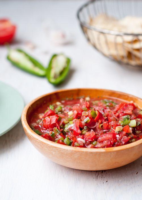 fresh salsa; the last recipe you'll ever need