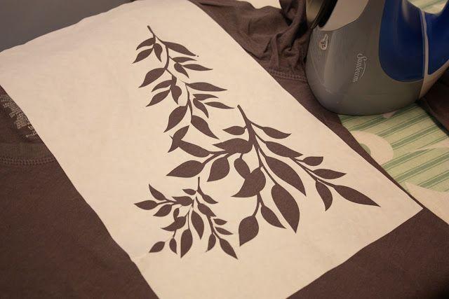 Plus de la Silhouette: Papier Congélateur pochoir et de la chaleur T-SHIRTS transfert | Faire et l'aimer