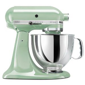 KitchenAid Artisan 5-Quart Stand Mixers  by KitchenAid  Color: Pistachio  Price:	$299.95