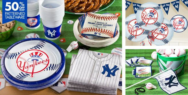 MLB New York Yankees Party Supplies - Party City