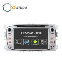 US $363.99 Ownice C500 4G LTE Android 6.0 Octa 8 Core Car DVD Player GPS For FORD Mondeo S-MAX Connect FOCUS 2 2008 2009 2010 2011 32G ROM. Aliexpress product