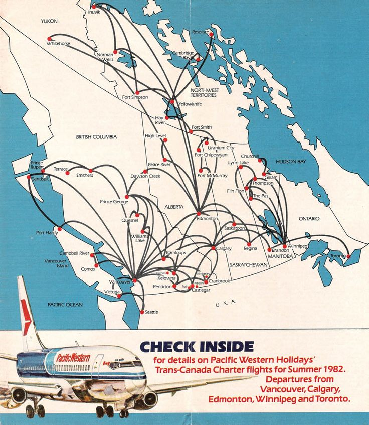 Pacific Western Airlines (1982) Canada