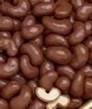 chocolate covered cashews ~ OMG yum