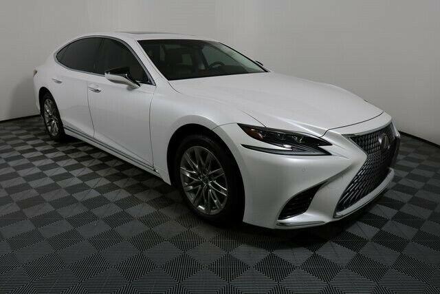 Used 2018 Lexus Ls 500 Base 2018 Lexus Ls 500 Base 4 962 Miles Ultra White 4d Sedan 3 5l V6 Dohc 24v 10 Spee 2020 Mycarboard Com In 2020 Lexus Ls Lexus Sedan