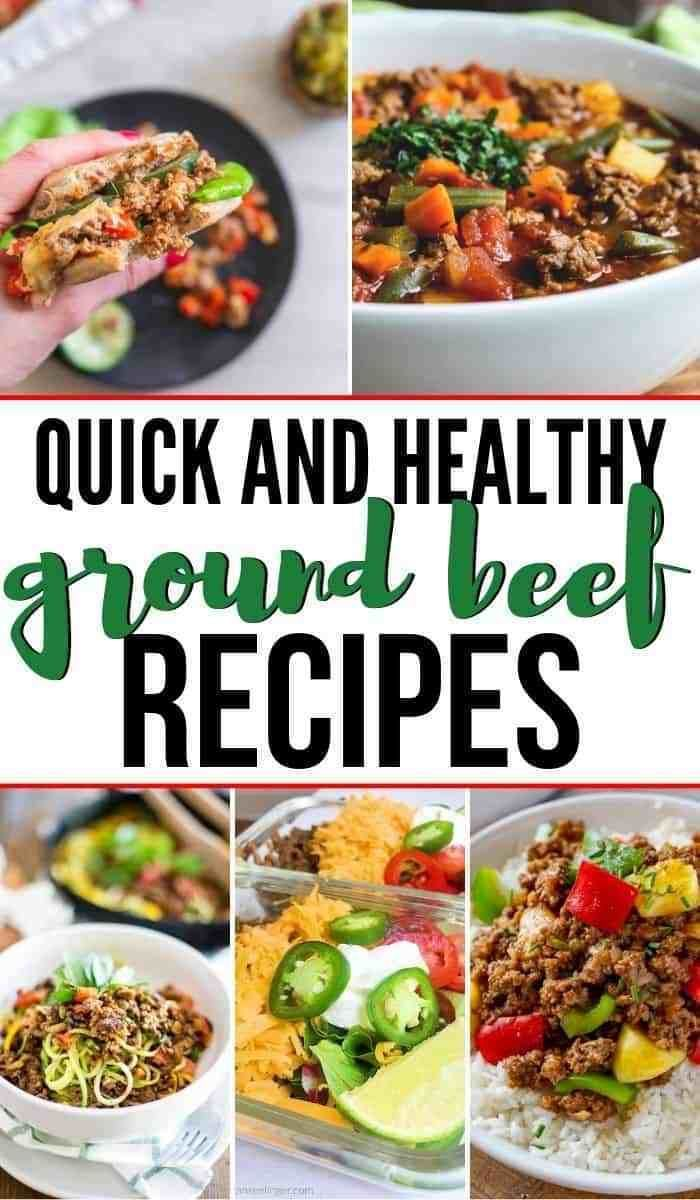 Quick And Healthy Recipes With Ground Beef Fit Found Me Ground Beef Recipes Healthy Ground Beef Recipes Beef Recipes