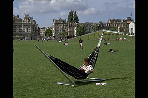 Relaxen op het Museumplein!