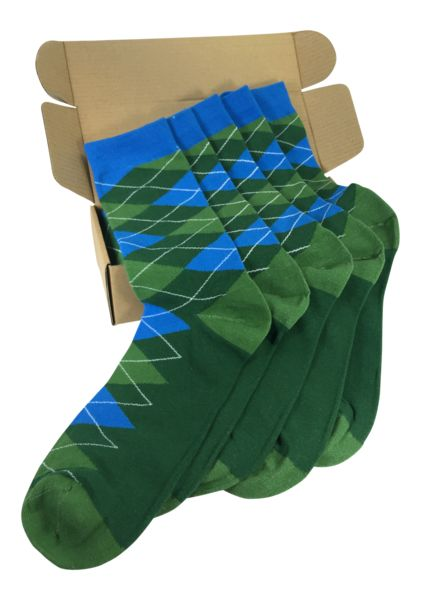 5 Pair Groomsmen Wedding Party Socks - Blue/Green Argyle Dress in style - wedding party clothes - Men's Fashion - Groomsmen on deck!