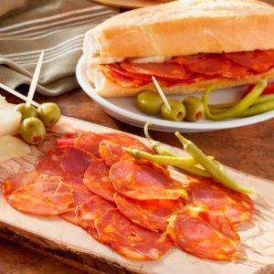LaTienda.com - Authentic Spanish 'Campofrio' Cantimpalo-Style Chorizo Sliced by Hand http://www.tienda.com/food/products/cz-41.html?site=1