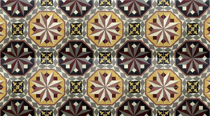 our encaustic cement tiles