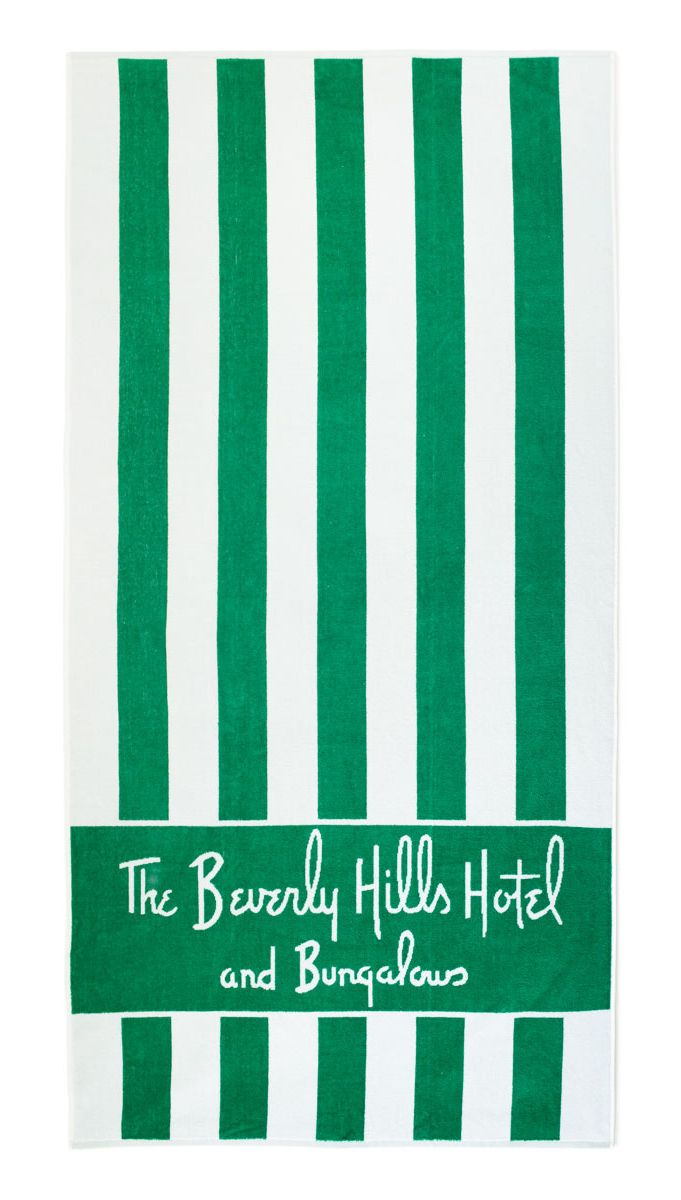 The Beverly Hills Hotel beach towel