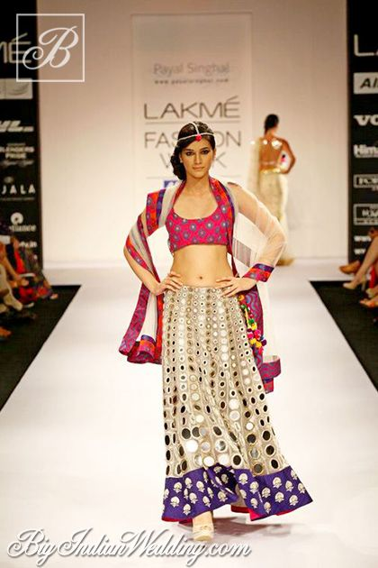Payal Singhal Lakme Fashion Week 2012