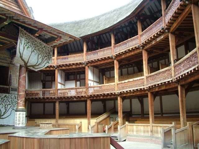 the Globe Theater insideGlobes Theatres, Shakespeare'S Life, Globes Theater, Shakespeare Built, Final Projects, Plays, Classic Theatres, London Theatres, Simply Shakespeare