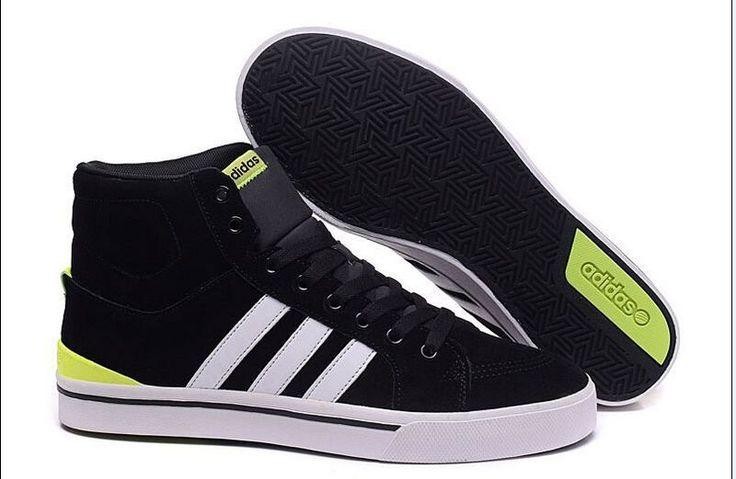Adidas Neo Homme Noir Vert