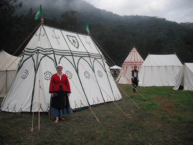 Family Sized Double Bell Tent Cool Tents Tent Camping