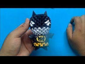 Origami 3D Mini batman