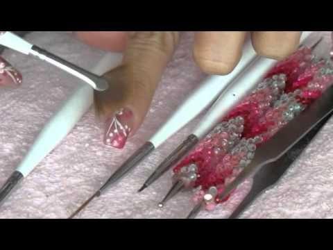 Técnicas para decoracion de uñas (Peticion) - YouTube