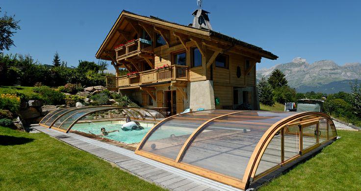Abri de #piscine BAS DISCRETION http://bit.ly/1h0y3NO -- Etablir un devis : http://sesamecover.com/contact-devis/