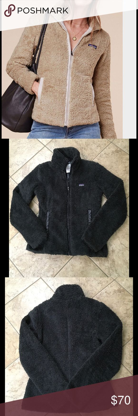 Patagonia fleece jacket Sz XS In perfect condition beautiful warm and cozy jacket with stand up collar and pockets in color Forge Grey Patagonia Jackets & Coats Utility Jackets