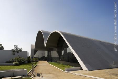 Oscar Niemeyer - Memorial of Latin American Complex /Auditorium Building, São Paulo SP, Brazil