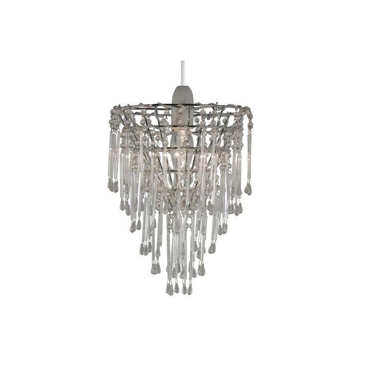 Charlie pendant silver bulb lightslight