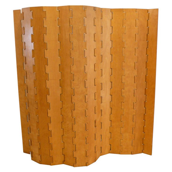 folding cut plywood screen c by clifford pascoe