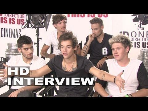 One Direction: This Is Us: Harry Styles, Zayn Malik, Liam Payne, Louis Tomlinson & Niall Horan - MY NEW FAVORITE INTERVIEW HAHA