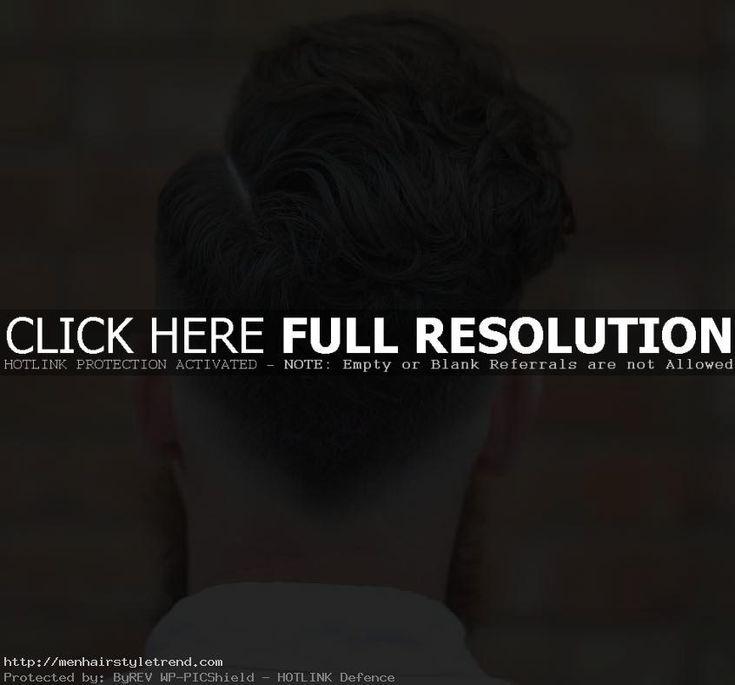 31 Penteado elegante com decote em V 2019 – Penteados masculinos 2019