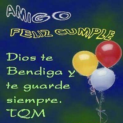 feliz cumpleaños para un amigo especial y querido
