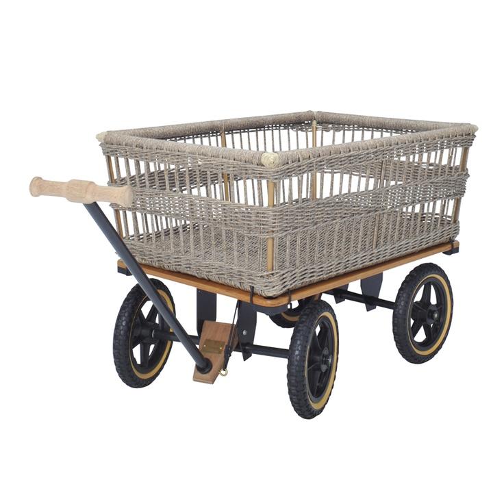 garden wagon with basket