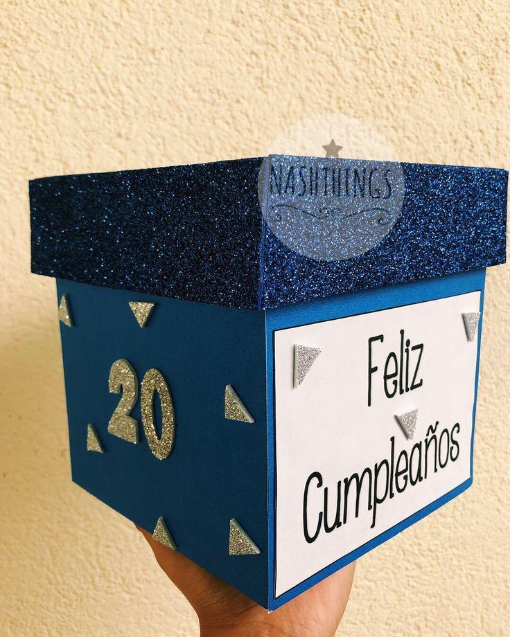 Cajitas personalizadas de cumpleaños 🥳