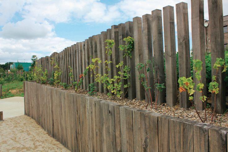 Best 25+ Traverse Paysagere ideas on Pinterest Traverses jardin, Aménagement en traverses and  # Bordure Bois A Planter Gamm Vert