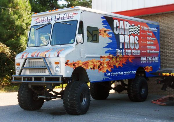 Used Bread Trucks Bread Truck Wrap Monster Truck Wrap