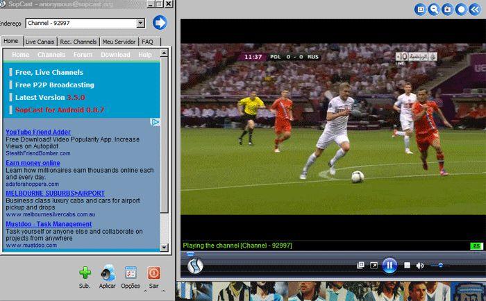Cómo ver el mejor fútbol gratis online desde casa haciendo uso de una herramienta gratuita llamada Sopcast.