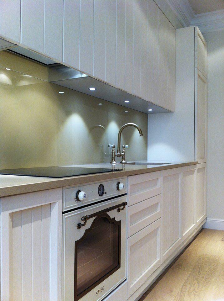 Interior of timeless kitchen. Interior design-project of private apartments in Mostecka str., Centre of Prague, Czech Republic.  #KitchenDesign #InteriorDesign #NavrhyInterieru #ДизайнКухни #ДизайнИнтерьера #ДизайнПрага #TimelessKitchen