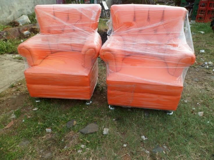 Sillones Vintage en Naranja