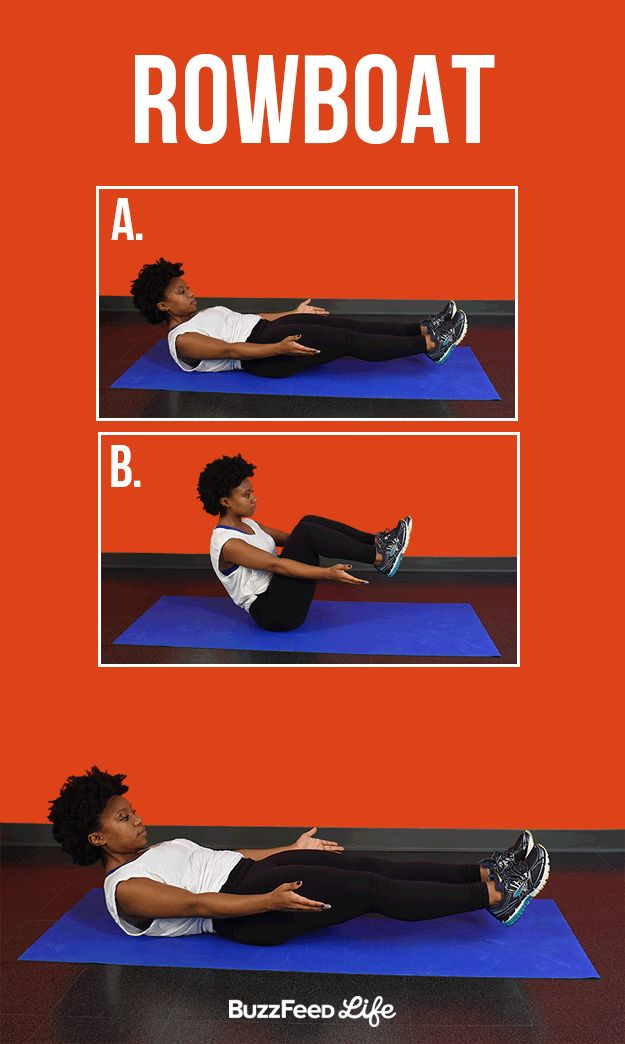 Rowboat Abs Workout Six Pack Abs Workout Abs Workout Routines