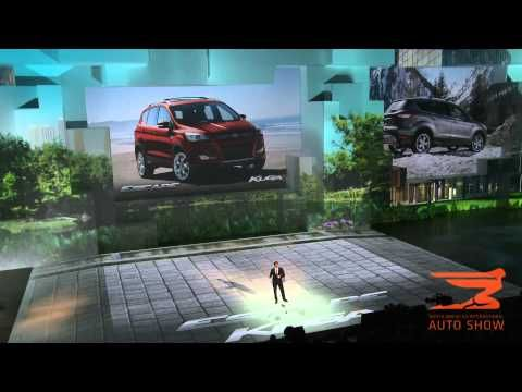 Novo Ford F-150 apresentado na edição de 2014 do Salão Automóvel de Detroit o