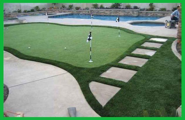 Diy Backyard Putting Green Ideas Come True In 2020 Backyard Putting Green Green Backyard Indoor Putting Green