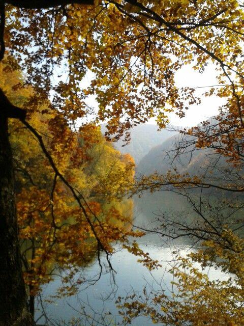 Lake Hámori, Lillafüred, Hungary  <3