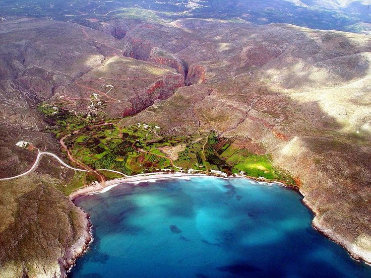 Kato Zakros Gorge or the Gorge of the Dead - Crete, Greece