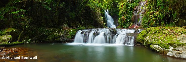 Elabana Falls, Lamington National Park, Queesland, Australia