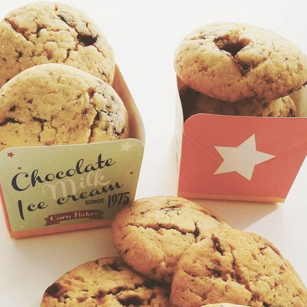 Cookies moelleux chocolat & caramel