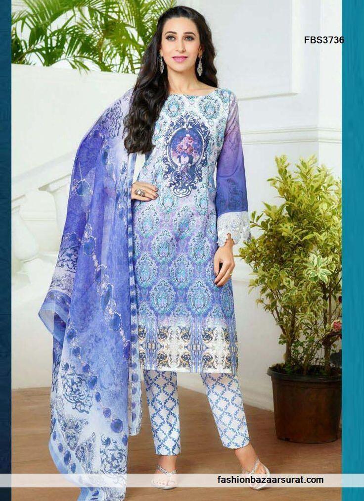 Karishma Kapoor Dignified Multicolor Designer Salwar Suit