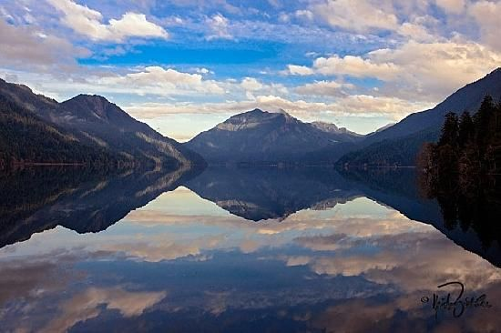 Cresent Lake, Olympic National Park