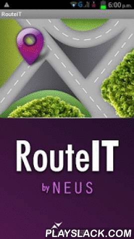 RouteIT By NEUS  Android App - playslack.com ,  With RouteIT design and supervise hundreds of visits and routes in real timeand operate them through the web.The app will geocode the addresses of your customers or points of interestthen we will do all the route engineering process including the correctbalance of geographical zones, weekly assignment and daily schedule,considering several kind of restrictions, then assign the optimized routesto your operators increasing sales and reducing…