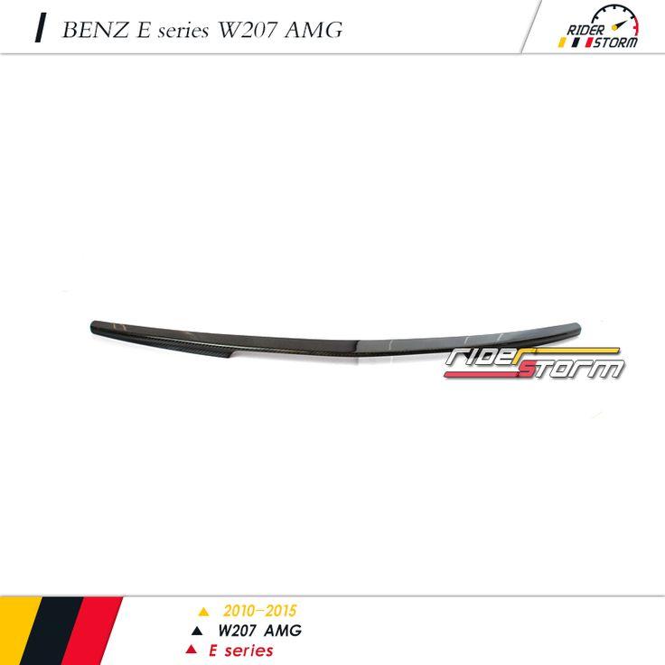 AMG E63 Design style Carbon Fiber Rear Spoiler for Mercedes E CLASS COUPE W207 E200 E260 E300 E320 E350 E400 E500 2010+