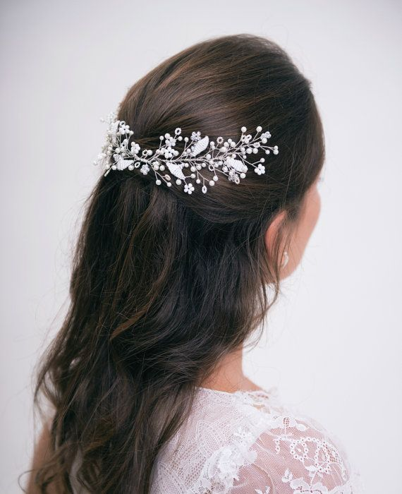 Hair Pieces For Weddings Wedding | pearl bridal hair vine ...