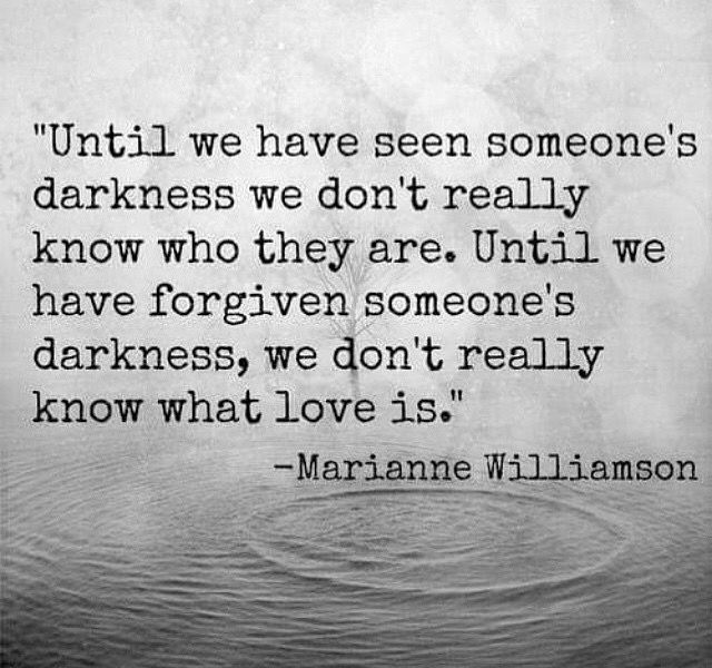 Love is forgiveness