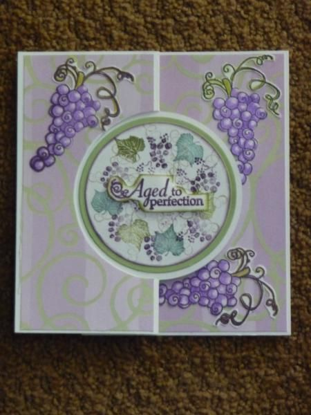 Fine Wine Swing Card by LilyLynn - Cards and Paper Crafts at Splitcoaststampers