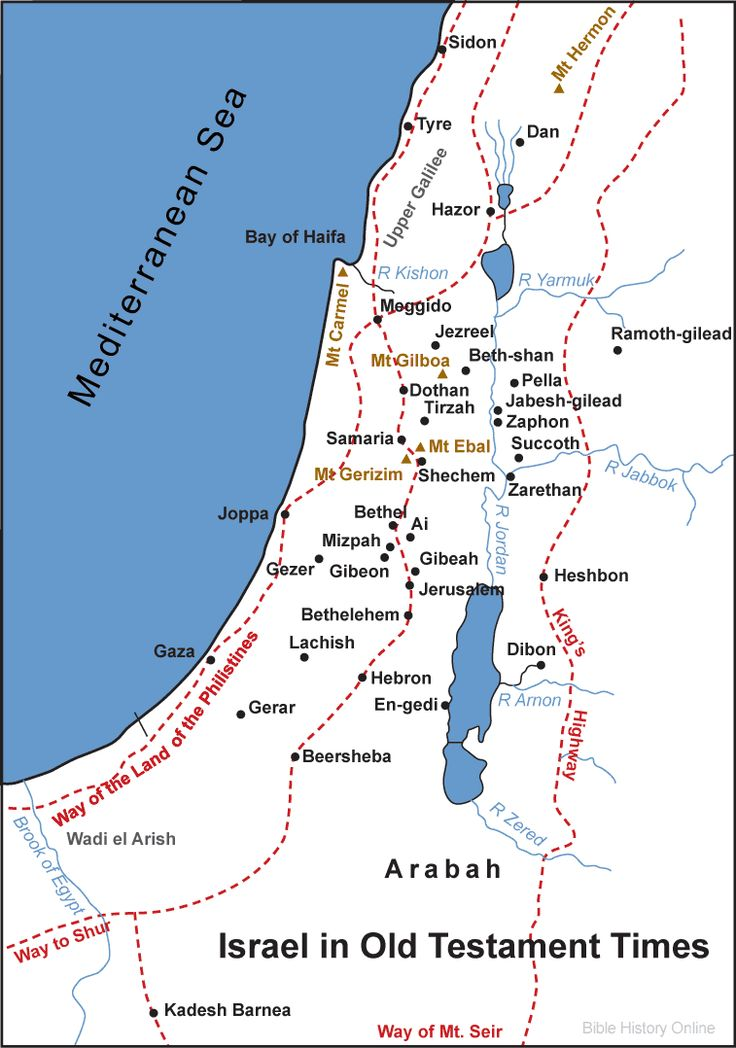 Israel in Old Testament Times in the Bible